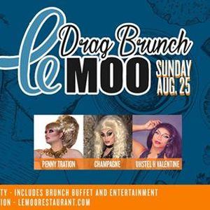 Drag Brunch at Le Moo 8.25.19