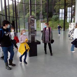 Familienfhrung zur Ausstellung von Heinz Mack