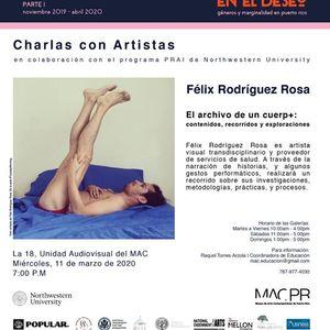 Charla con Flix Rodrguez-Rosa
