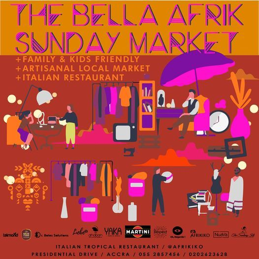 SUNDAY MARKET // BELLA AFRIK | Event in Accra | AllEvents.in