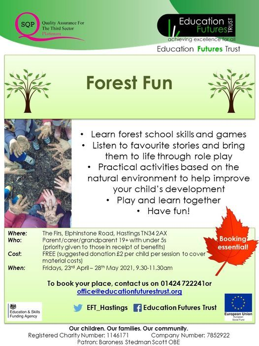 Forest Fun - Fridays | Event in Hastings | AllEvents.in