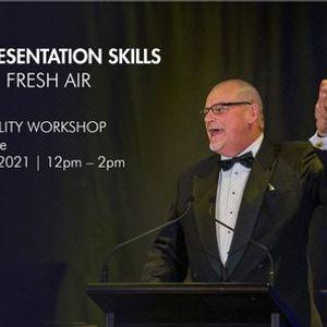 Business Presentation Skills  A breath of fresh air with David Nottage