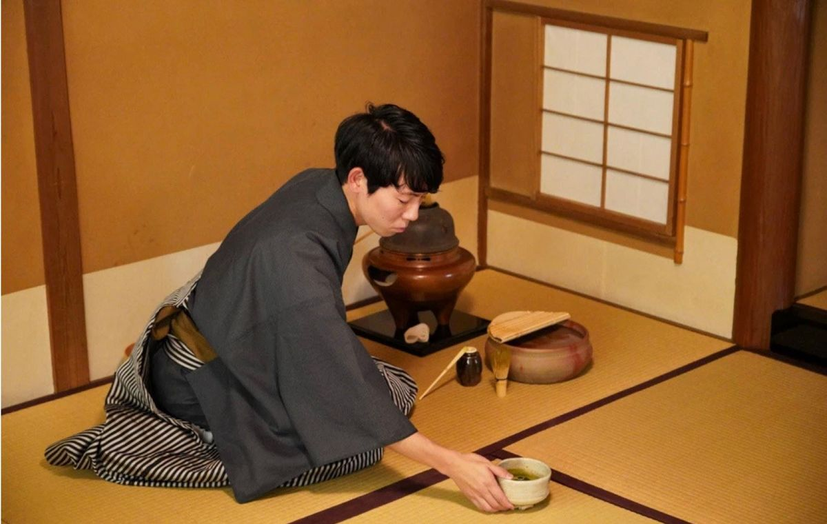 Private Samurai Tea Ceremony