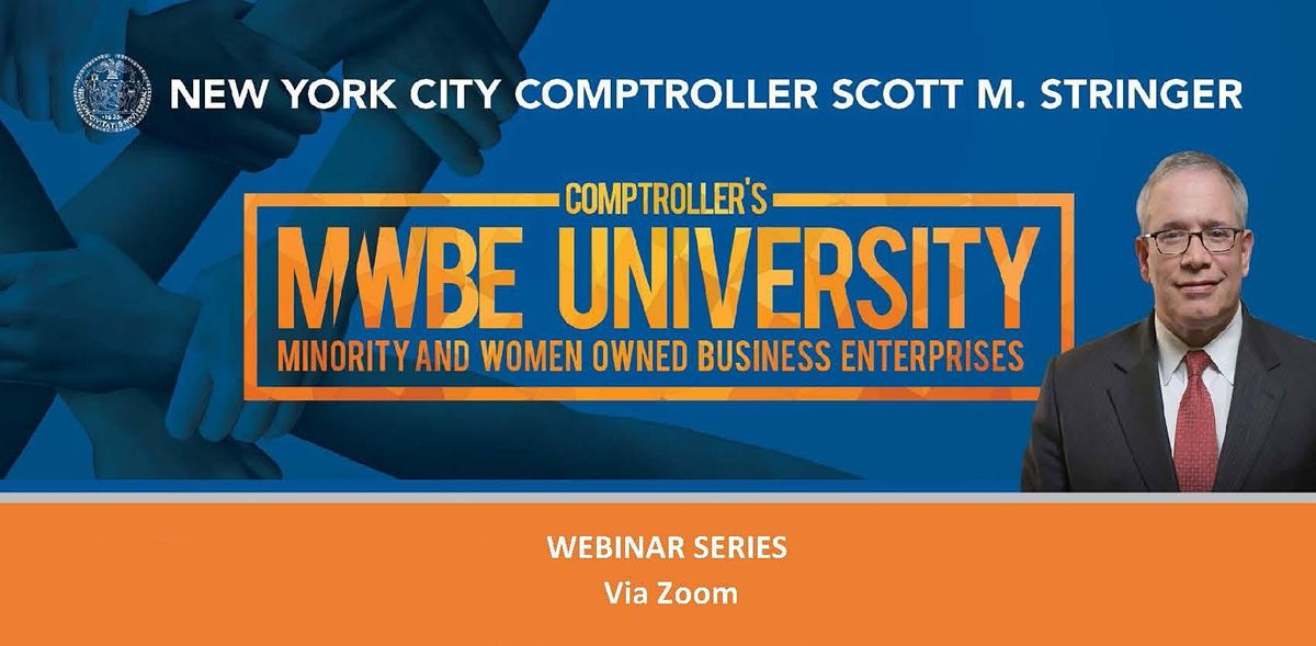 Doing Business with the Comptroller's Office, 4 August | Event in Zoom | AllEvents.in