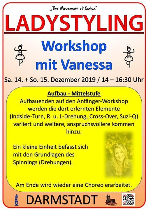 Ladystyling Workshop mit Vanessa (Mittelstufe)