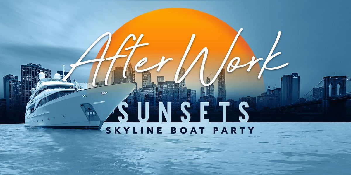 After Work Thursday Sunset Yacht Cruise Latin & Hip Hop Boat Party