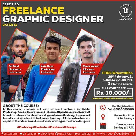 Certified Freelance Graphic Designer   Event in Karachi   AllEvents.in