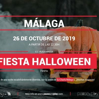Fiesta Halloween en Pause&ampPlay Plaza Mayor