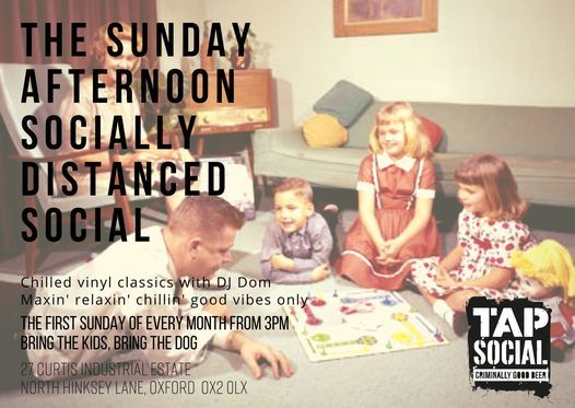 The Socially Distanced Sunday Afternoon Social, 6 December | Event in Oxford | AllEvents.in