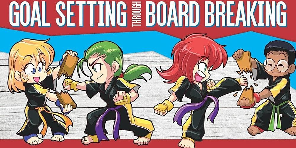 **FREE****Goal Setting Through Board Breaking Seminar (ages 5-12), 20 March | Event in Martinez | AllEvents.in