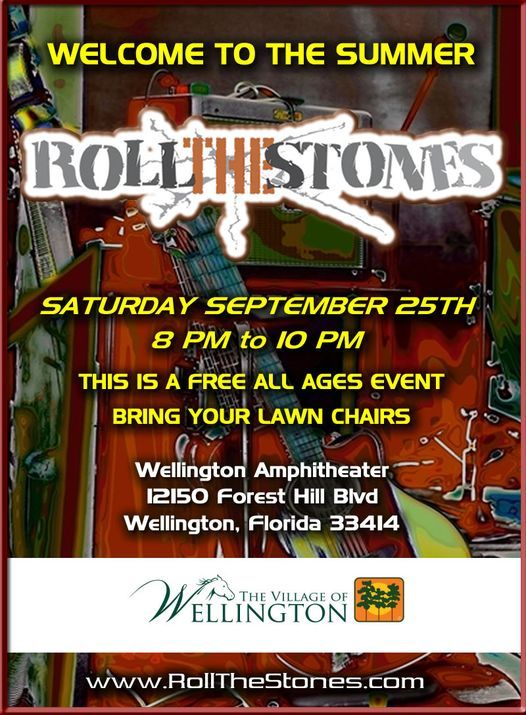 Roll The Stones rock Wellington for First Time! | Event in West Palm Beach | AllEvents.in