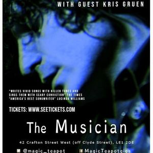 Jesse Malin  Kris Gruen at The Musician 6 October 2021 15 adv