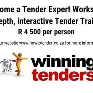 Tender Training Workshop - Randburg R 4500 per person