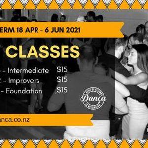 Kizomba Sunday Classes (Term 2 of 2021)