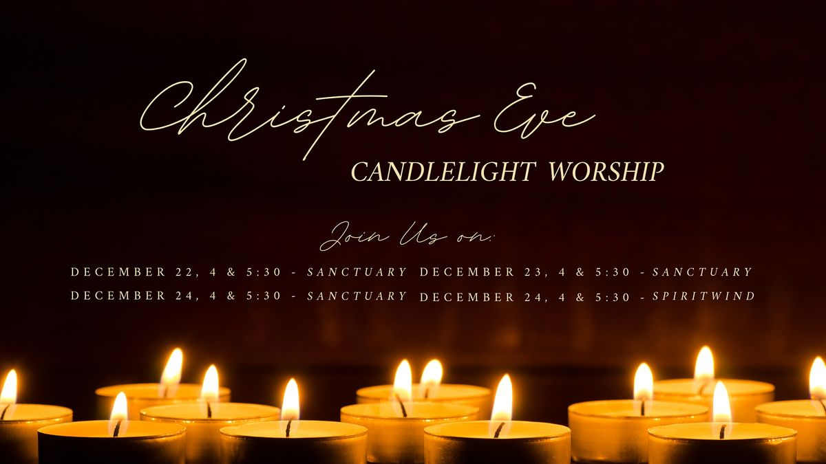 Sanctuary Candlelight Christmas Eve Worship, Asbury United