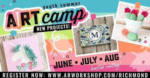 HALF DAY SUMMER CRAFT CAMP :: MACRAME POT HANGER - AGES 7-14!, 20 August | Event in Richmond | AllEvents.in