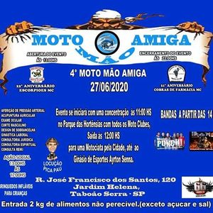 4 Moto Mo Amiga - Taboo da SerraSP