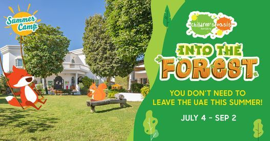 Into the Forest Summer Camp, 4 July | Event in Dubai | AllEvents.in
