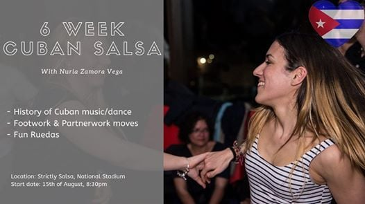 Special Cuban Salsa class with Nuria