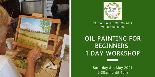 Beginners Oil Painting Workshop, 8 May | Event in Melton Mowbray | AllEvents.in