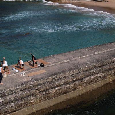 Beach Yoga Class in Moraira (Alicante Spain)