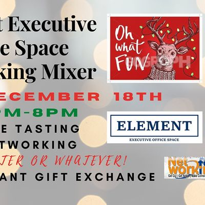Element Networking Mixer (Phoenix) UGLY SWEATER or WHATEVER