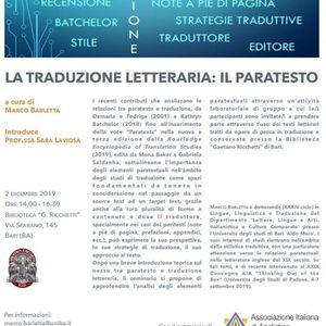 La traduzione letteraria il paratesto