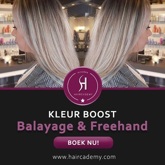 Kleur Boost Balayage & Freehands