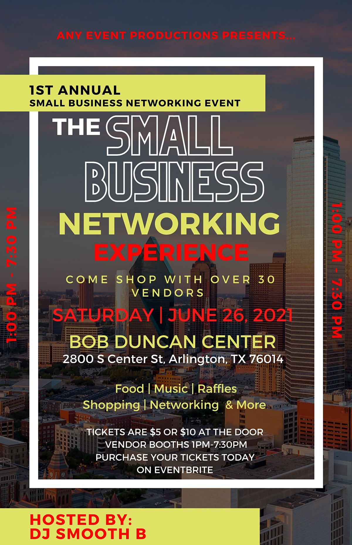 Small Business Networking Event, 26 June | Event in Arlington | AllEvents.in