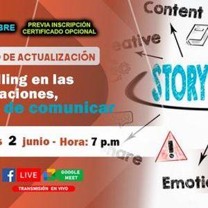 Seminario Gratuito Storytelling en las Organizaciones el arte de comunicar
