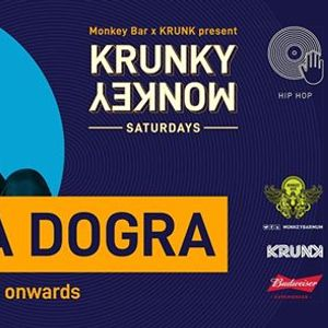 Krunky Monkey 006 Monica Dogra (DJ Set)  Monkey Bar Mumbai