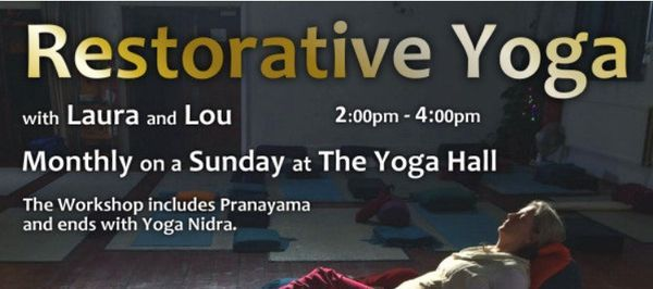 Restorative Yoga Workshop. Attend In Person or on Zoom. | Event in Saint Albans | AllEvents.in