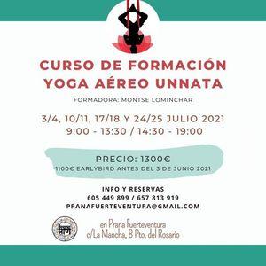 Curso de Formacin Yoga Areo Unnata