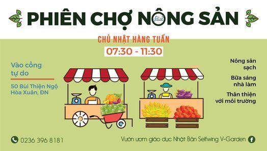 Phiên chợ Nông sản Selfwing V-Garden, 7 March | Event in Danang | AllEvents.in