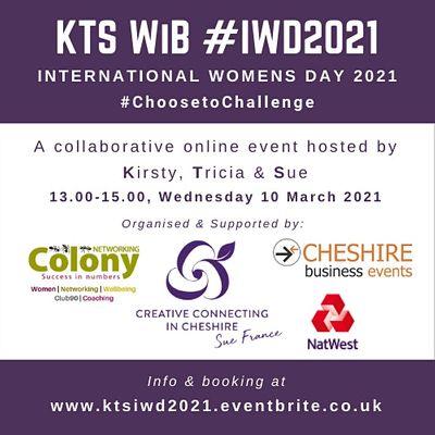 KTS Women in Business - International Womens Day IWD 2021