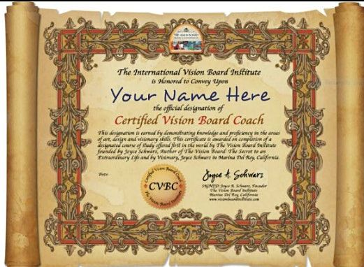 Visionboard Fans Be A Certified Visionboard  Coach | Online Event | AllEvents.in