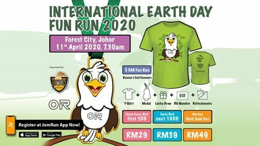 International Earth Day Fun Run 2020