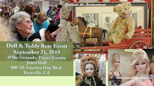 Roseville CA Doll & Teddy Bear Show & Sale