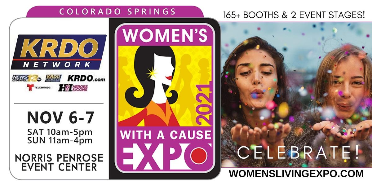 Colorado Springs Women's Expo With A Cause 2021, 6 November | Event in Colorado Springs | AllEvents.in