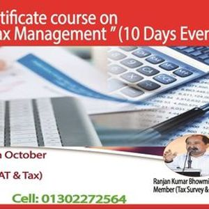 Online Certificate course on Income Tax Management (10 Days)