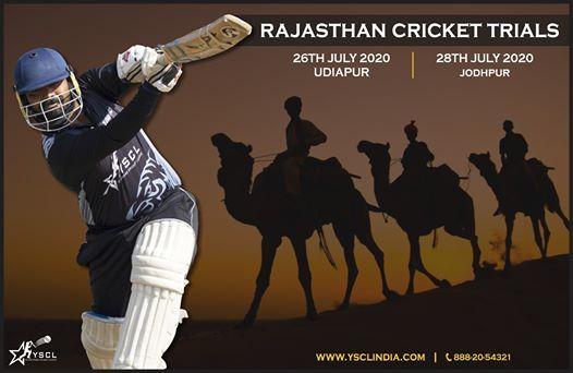 Udaipur Cricket Trials