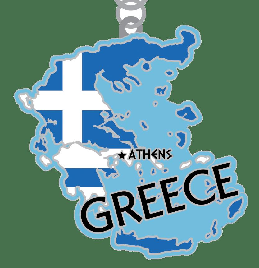 The Race Across the Greece 5K 10K 13.1 26.2 -Detroit