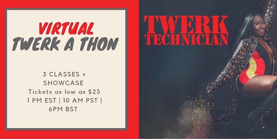Vertical Joe's: Twerk-A-Thon | Online Event | AllEvents.in