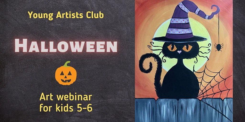 Young Artist Club - Online Art Webinar for 5-6 year olds, 30 October | Online Event | AllEvents.in
