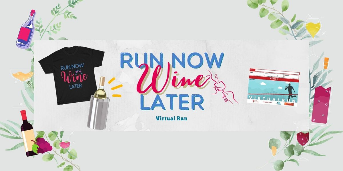 5K Run 4 Wine Virtual Race | Online Event | AllEvents.in
