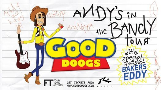 Good Doogs Andys in the Bandy Tour - Melbourne