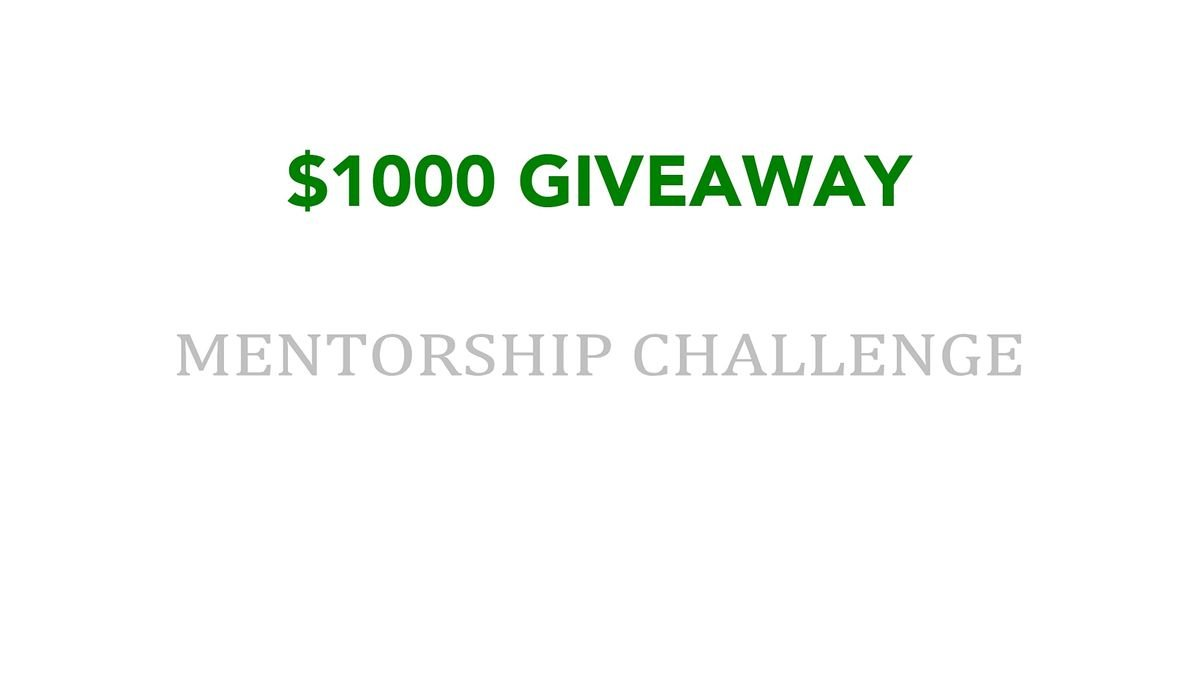 1000 Giveaway