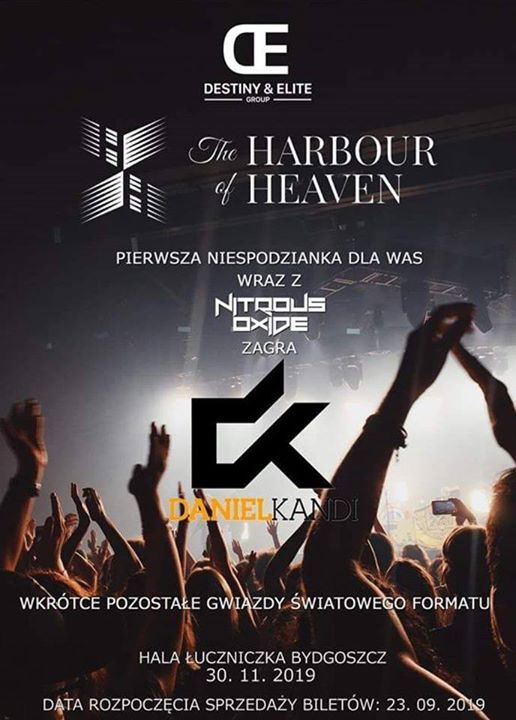 Daniel Kandi B2B Nitrious Oxide at The Harbour of Heaven 2019
