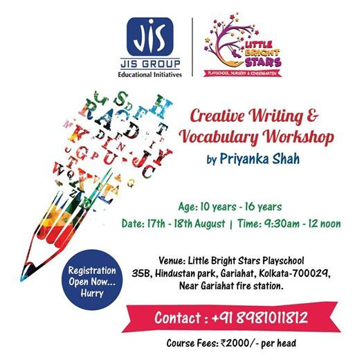 Creative Writing and Vocabulary workshop