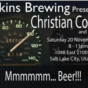 Hopkins Brewing Presents Christian Coleman and his band